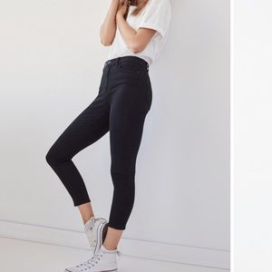 UO High Rise Cropped Skinny Jeans